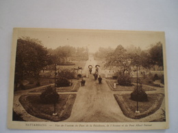 Cambodia // Battambang // Vue Entree Parc Du Residence - Avenue Et Pont Albert Sarraut 1928 - Cambodja