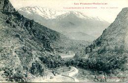 N°60909 -cpa Villefranche De Conflent -vue Du Canigou- - Autres Communes