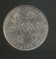 DDR - 10 MARK ( 1975 - 20th Anniversary WARSAW PACT ) Eastern Germany / Germania Est / Deutschland - [ 6] 1949-1990 : RDA - Rep. Dem. Tedesca