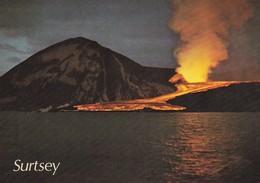 Postcard Iceland Surtsey Island Lava Flow SW Slope [ Volcano Interest ] My Ref  B22514 - Iceland