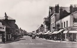 CARTOLINA - POSTCARD - HAMPSHIRE - FAREHAM - WEST STREET FROM EAST STREET - Inghilterra