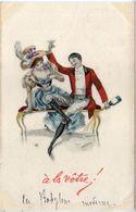 Champagne - A La Votre - Couple      (104059) - 1900-1949
