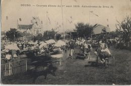 CPA  BOURG Courses D'ânes Du 1er Août 1900 Asinodrome De Brou(5) - Autres Communes