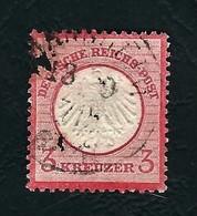 DEUTSCHES REICH 1872 - Aquila A Rilievo In Un Cerchio / Piccolo Scudo Sull'aquila - 3 K. Rosa Carminio - Michel DR 9 - Germania