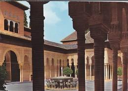 ESPAGNE---GRANADA---alhambra--patio De Los Leones--voir 2 Scans - Granada