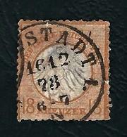 DEUTSCHES REICH 1872 - Aquila A Rilievo In Un Cerchio / Piccolo Scudo Sull'aquila - 18 K. Bistro - Michel DR 11 - Germania