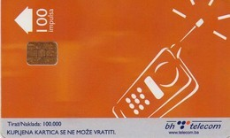 TARJETA TELEFONICA DE BOSNIA Y HERZEGOVINA. (523) - Bosnia