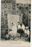 "ALGERIE        ALGER  Atelier D'Alger 21 Avenue Du Frais Vallon   "" Femmes Arabes Tissant Un Tapis - Alger"