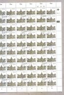 South Africa 1982 Sheet 4c Buildings Set Raadsaal Pretoria CTO Stamps - Blocs-feuillets