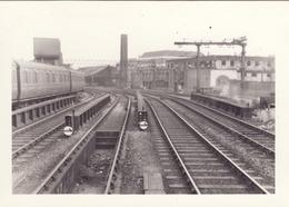 Railway Station Photo London Fenchurch Street 1954 Platform 3 Exit GER LT&SR - Trains