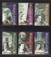 GUERNSEY GB - 2001 VICTORIA DEATH CENTENARY COMPLETE SET (6V) FINE MNH ** - Guernsey