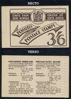 AFRIQUE DU SUD - UNION SUD  AFRICAINE / RARE CARNET ANCIEN COMPLET ** / BOOKLET (ref 6588) - Libretti