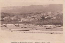 CPA 84  SAINT ROMAN DE MALEGARDE   VUE GENERALE  RIVIERE L'AYGUES - Unclassified