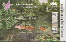 BRAZIL - SS SPORT FISHING 2009 - MNH - Fishes