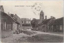Oise GRAND FRESNOY Rue De L'église - Otros Municipios