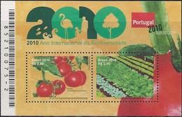 BRAZIL - SS INTERNATIONAL YEAR OF BIODIVERSITY (WORLD PHILATELIC EXHIBITION IN PORTUGAL) 2010 - MNH - Philatelic Exhibitions
