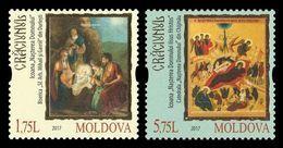 Moldova 2017 Mih. 1028/29 Christmas. Icons MNH ** - Moldavia