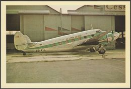Comair Lockheed Lodestar ZS-ATL At Rand Airport - Airline Publications Postcard - 1946-....: Modern Era