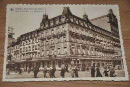 910- Bruxelles, Hotel Des Boulevards - Cafés, Hotels, Restaurants