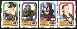 Montserrat 1989 50th Anniversary Of The Wizard Of Oz Film Set MNH (SG 797-800) - Montserrat