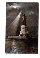 USA New York Liberty Statue De La Liberté Cpa Cachet 1907 + Timbre - Statue De La Liberté