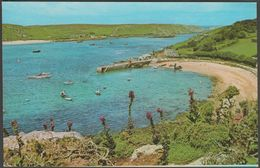 New Grimsby Harbour, Tresco, Isles Of Scilly, C.1970s - Gibson Postcard - Scilly Isles