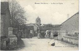 Braux - La Rue De L'Eglise - Francia