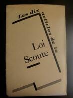 Les Dix Articles De La LOI  SCOUTE 10  Kaarten - Organizations