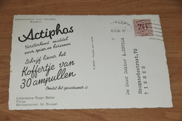 914- Verlichting Van Brussel, Broodhuis - 1956 (reclamekaart) - Belgique