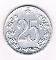 25 HALLER 1962 TSJECHOSLOWAKIJE /1801G// - Czechoslovakia