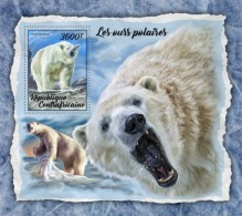 Centra Africa CENTRAL AFRICAN REP.  2018 Polar Bears  S201802 - Centraal-Afrikaanse Republiek