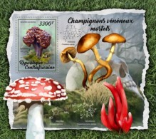 Centra Africa CENTRAL AFRICAN REP.  2018 Mushrooms S201802 - Centrafricaine (République)