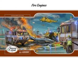 Sierra Leone  2018 Fire Engines S201802 - Sierra Leone (1961-...)