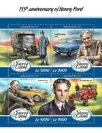 Sierra Leone  2018 Henry Ford S201802 - Sierra Leone (1961-...)