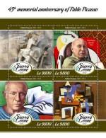 Sierra Leone  2018 Pablo Picasso S201802 - Sierra Leone (1961-...)