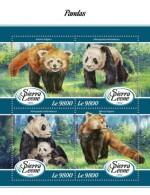 Sierra Leone  2018 Pandas S201802 - Sierra Leone (1961-...)
