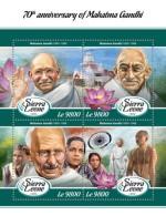 Sierra Leone  2018 Mahatma Gandhi S201802 - Sierra Leone (1961-...)
