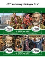 Sierra Leone  2018 Giuseppe Verdi S201802 - Sierra Leone (1961-...)