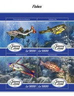 Sierra Leone  2018 Fishes S201802 - Sierra Leone (1961-...)