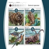 SOLOMON ISLANDS  2018 Extinct Species S201802 - Solomon Islands (1978-...)