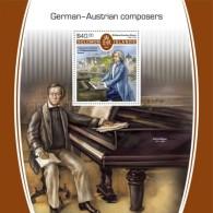 SOLOMON ISLANDS  2018 German-Austrian Composers Music S201802 - Solomon Islands (1978-...)