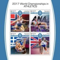 SOLOMON ISLANDS  2018 2017 World Championships S201802 - Solomon Islands (1978-...)