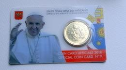 VATICANO 2018, THE COINCARD N, 9 - Vatican