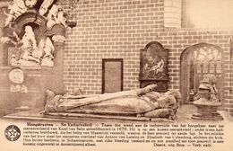 Hoogstraten - Ste Katharinakerk - Marmeren Beeld Van Karel Van Salm - Hoogstraten