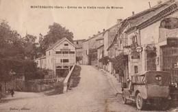 32/ Montesquiou - Entrée De La Vielle Route De Mirande - Voiture Garage - Andere Gemeenten