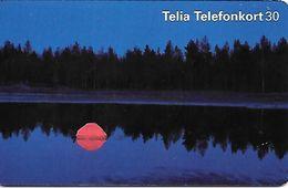Telia: Sonnenuntergang - Norwegen
