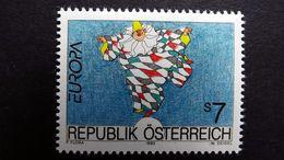 Österreich 2095 **/mnh, EUROPA/CEPT 1993, Zeitgenössische Kunst - 1991-00 Unused Stamps