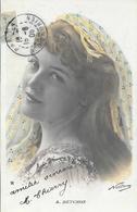 Portrait De L'actrice A. Detchon - Photo Nadam - Carte Colorisée Etoile, G. Piprot - Autres