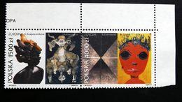 Polen 3445/6 **/mnh, EUROPA/CEPT 1993, Zeitgenössische Kunst - Neufs