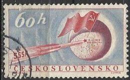 Cecoslovacchia Lotto N. 2263 Del 1959 Yvert N.1042 Usato - Tschechoslowakei/CSSR